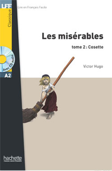 Miserables (les): T2 Cosette (with CD audio MP3) -  Hugo - Easy reader A2