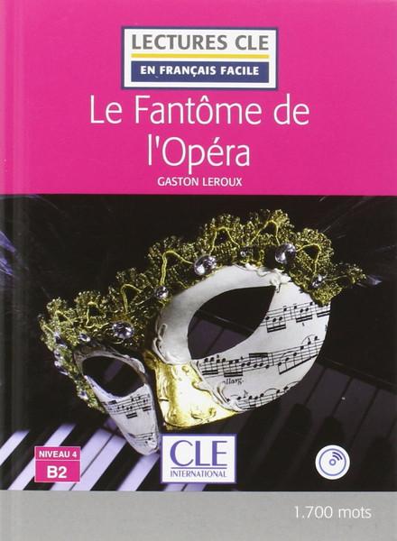 Fantome de l'opera + CD audio  Easy reader B2