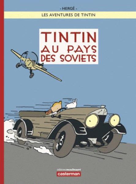 Tintin au pays des Soviets - En Couleur