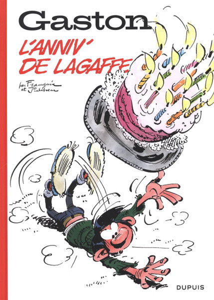 Gaston hors-serie 60 ans - L'anniv' de Lagaffe