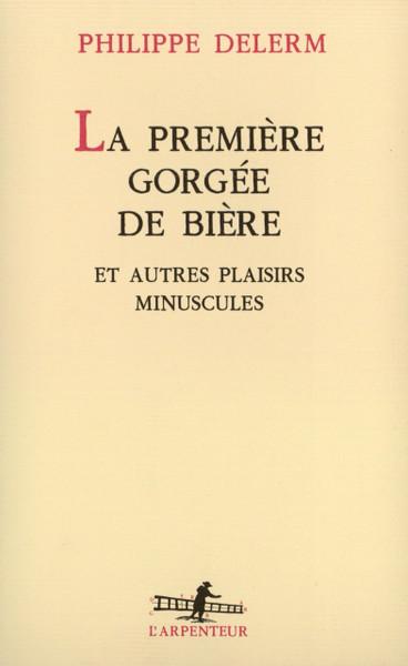 French book La premiere gorgee de biere
