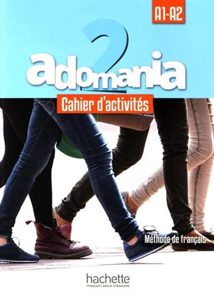 Adomania 2 Cahier d'activites + CD audio (A1-A2)