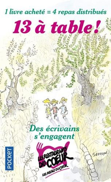 13 a table! (nouvelles) - Edition 2018 OUT OF PRINT