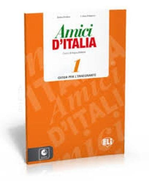 Amici d'Italia guida per l'insegnante - Level 1 (with 3 CD audio)