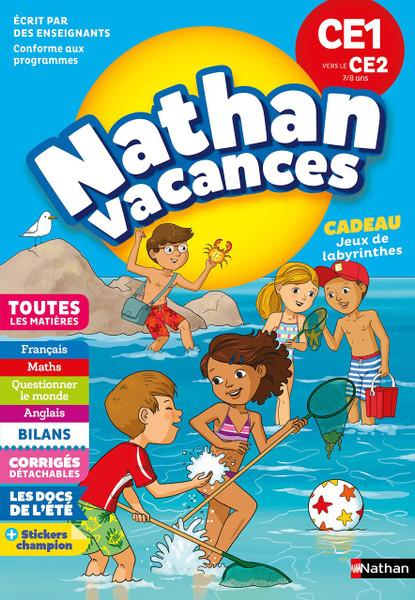 Cahier de Vacances 2018 CE1 Vers CE2 7/8 Ans