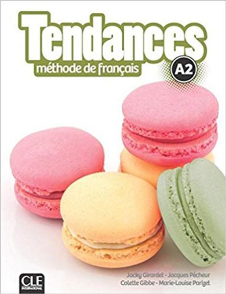 Tendances Methode de Francais A2 with DVD-Rom audio et video (livre eleve)