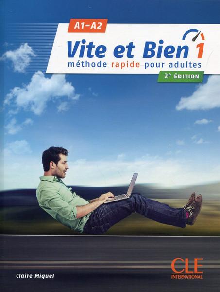 Vite et bien  1 with audio CD (A1-A2) - 2eme edition