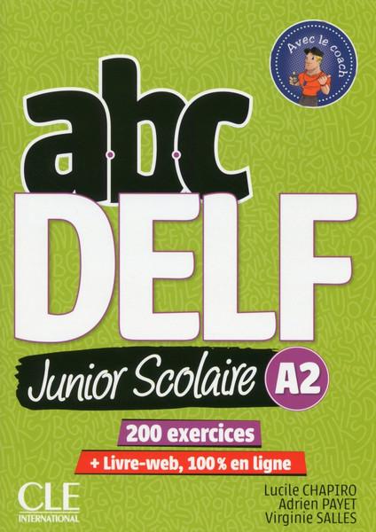 Abc DELF Junior scolaire A2 200 activites with corrige and DVD audio