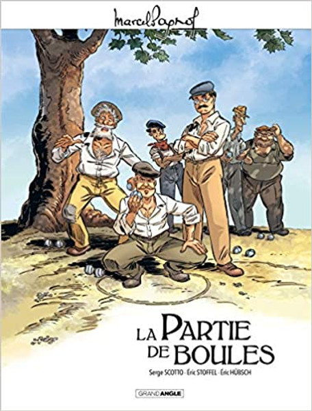 La partie de boules - Marcel Pagnol en BD