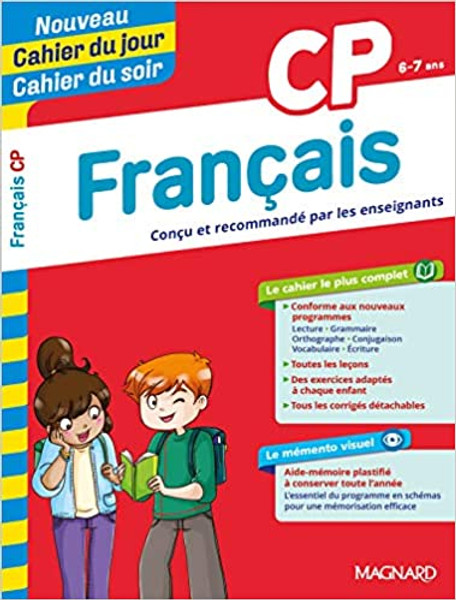 Cahier du jour - Cahier du soir Francais CP (6-7 ans) nouvelle edition