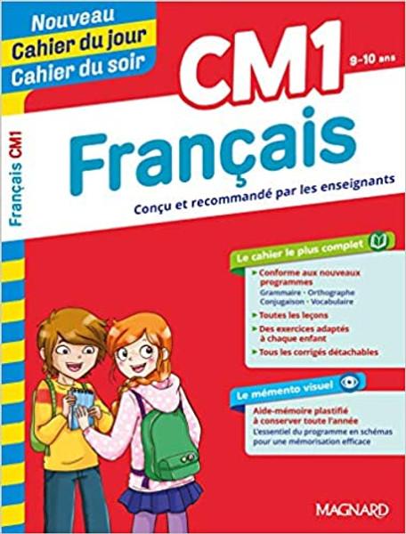 Cahier du jour - Cahier du soir Francais CM1 (9-10 ans) nouvelle edition