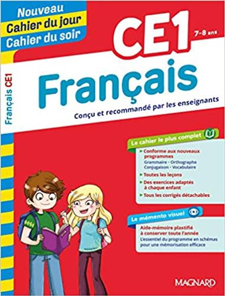 Cahier du jour - Cahier du soir Francais CE1 (7-8 ans) - Nouvelle Edition