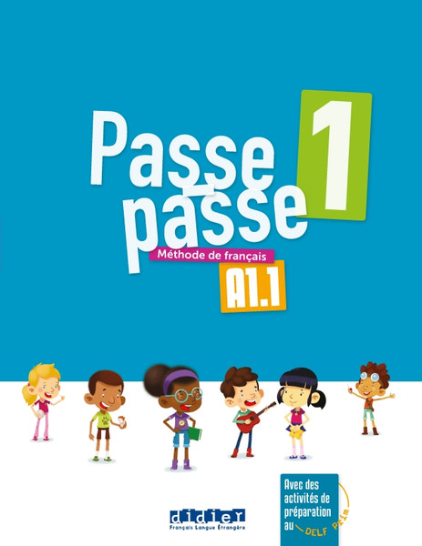 Passe-Passe Livre Eleve A1.1