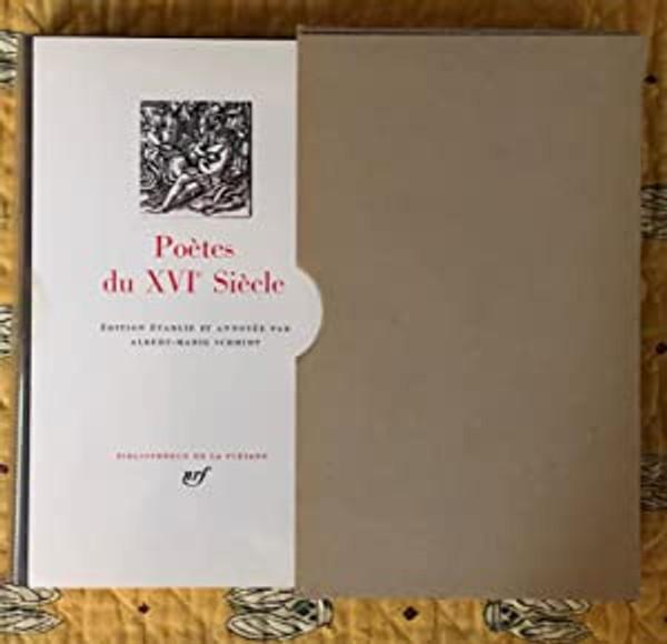Poetes du XVIe siecle