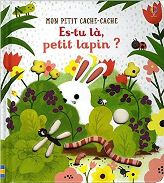 Es-tu la petit lapin? (Mon petit Cache-Cache) Author:Sam Taplin,Emily Dove,Véronique Duran(Translator) Published by: Usborne France (2018) ISBN-13: 9781474945806 Section: Frenchchildren's Books