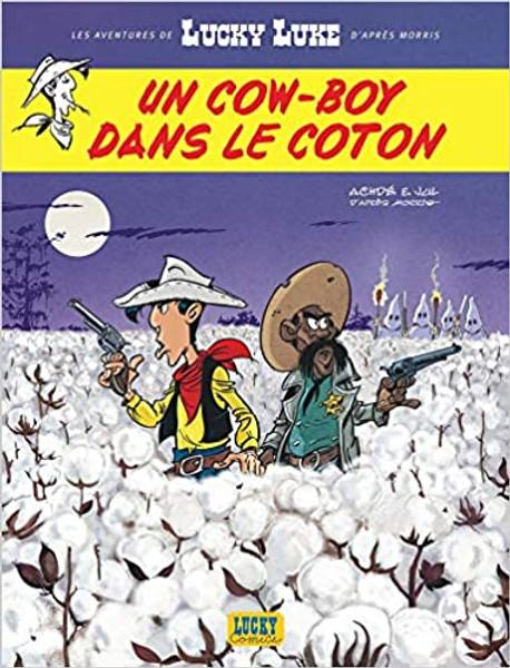 French comic book Lucky Luke N09 - Un cow-boy dans le coton
