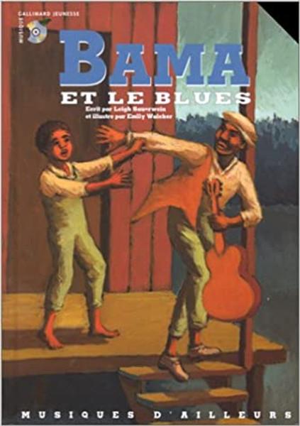 French book Bama et le Blues (Livre + CD)