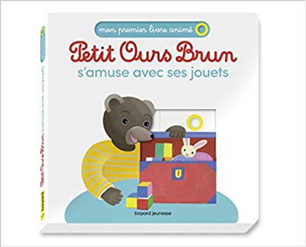 French children book s'amuse avec ses jouets