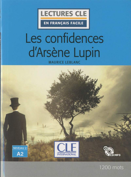 French easy reader Les confidences d'Arsene Lupin