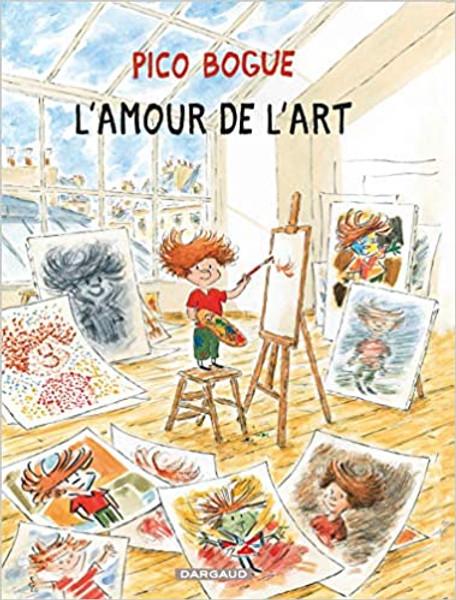 French comic book Pico Bogue - tome 10 - L'Amour de l'art