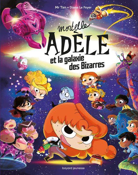French comic book Mortelle Adele et la galaxie des Bizarres - tome collector