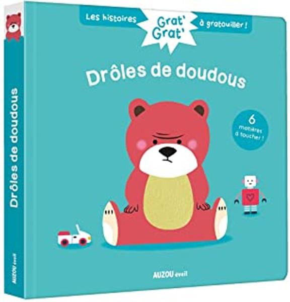 French children's book Grat' grat' - droles de doudous