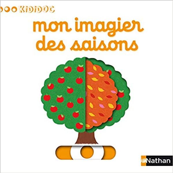 French children book Mon imagier des saisons