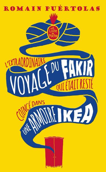 French book L'extraordinaire voyage du fakir qui était resté coincé dans une armoire Ikea