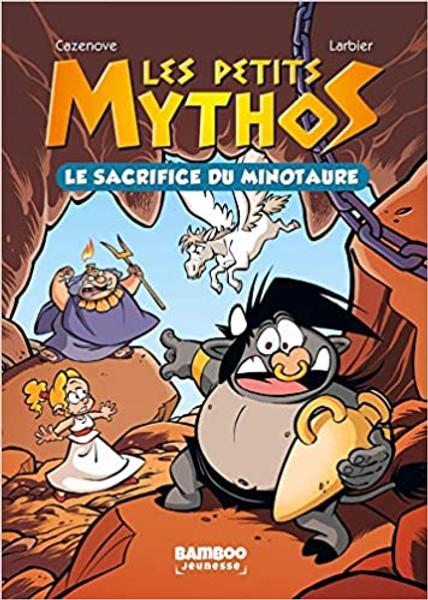 French comic book Les Petits Mythos Poche - T01: Le sacrifice du Minotaure