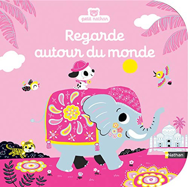 French book Regarde autour du monde