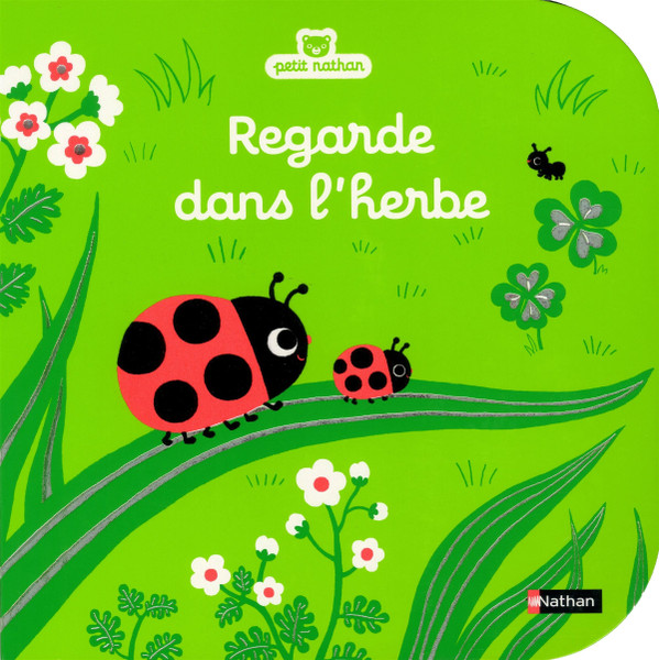 French book Regarde dans l'herbe