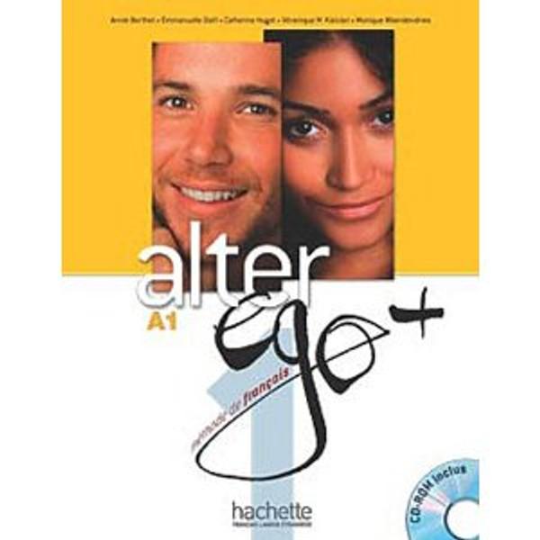 Alter Ego Niveau 1 + (PLUS)  Methode de Francais + CD