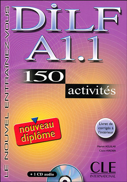 DILF A1.1 150 activites with corrige and CD audio