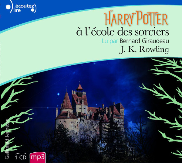 Harry Potter a l'ecole des sorciers - French Audiobook (1 CD mp3)