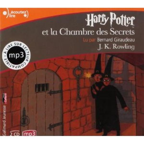 Harry Potter et la chambre des Secrets - Audiobook (CD mp3)