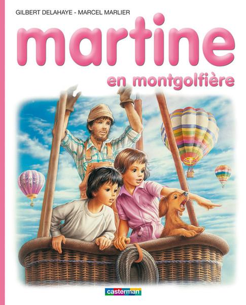 Martine en montgolfiere T33
