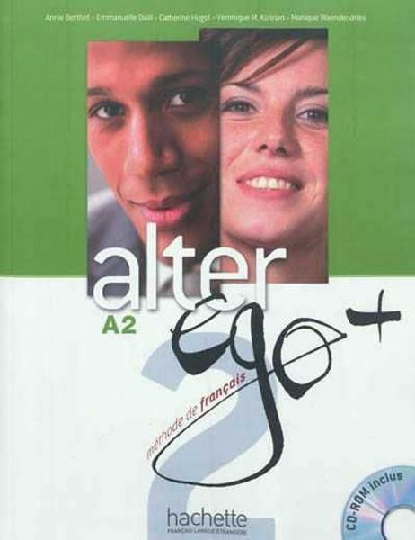 Alter Ego Niveau 2 + (PLUS)  Livre eleve + CD (A2)