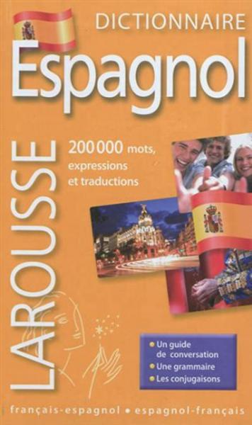 Dictionnaire larousse de poche francais espagnol -  espagnol francais