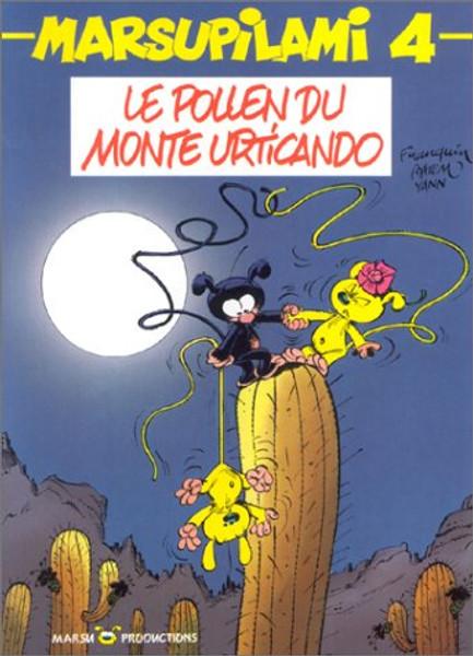 Marsupilami N04 - Le pollen du Monte Urticando