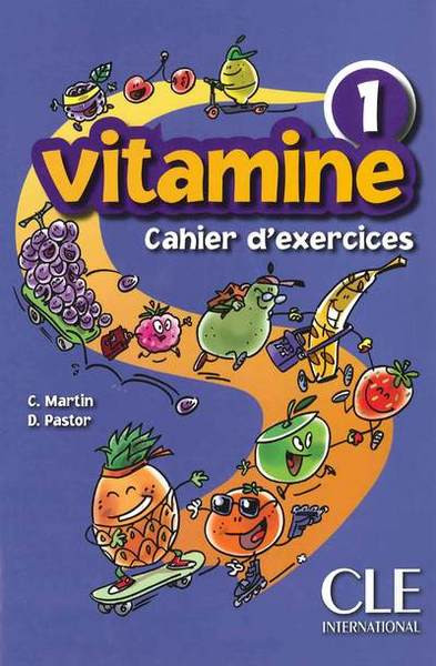 Vitamine 1. Cahier d'exercices with CD audio