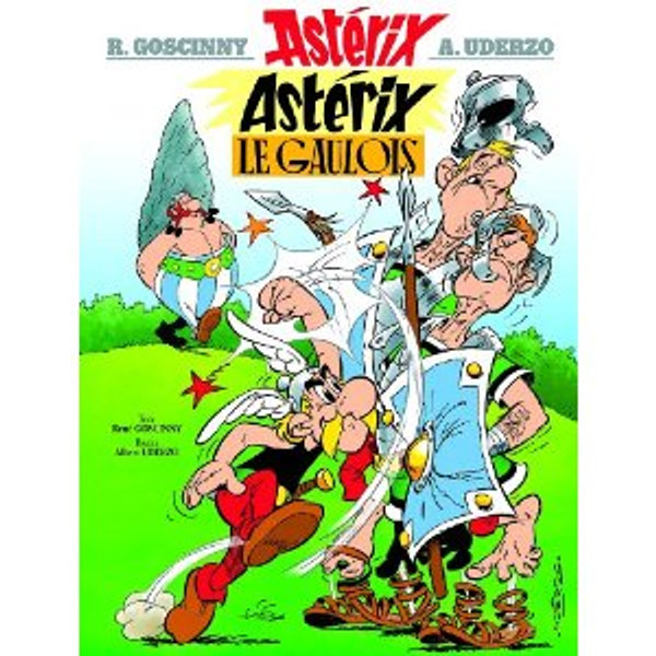 French Comic Book Asterix le gaulois Volume 1 Author: Goscinny & Uderzo Published by: Hachette  ISBN-13: 9782012101333