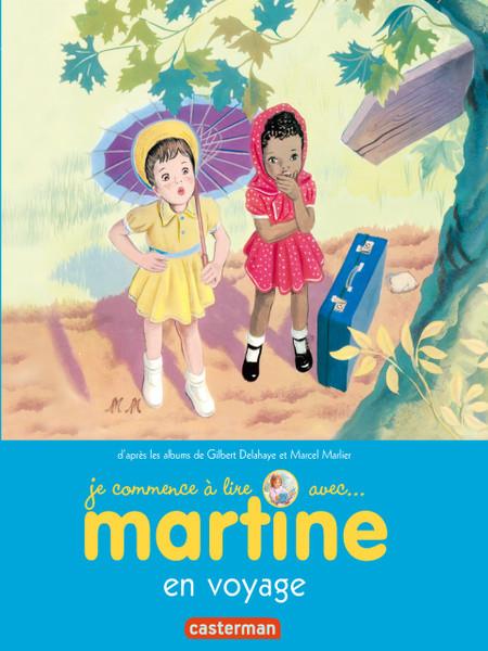 Je commence a lire avec...Martine en voyage