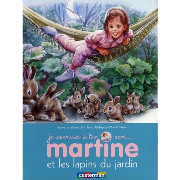 Je commence a lire avec...Martine et les lapins du jardin