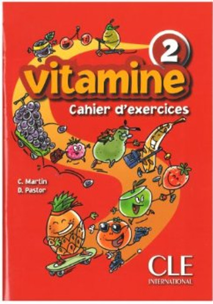 Vitamine 2. Cahier d'exercices with CD audio