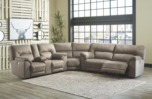 Cavalcade Slate Power Reclining Sectional