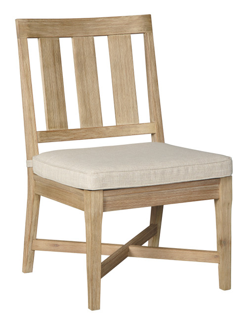 Clare View Beige Chair with Cushion (2/CN)