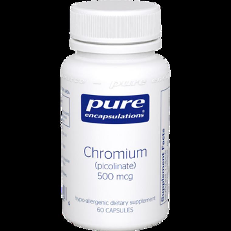 Chromium (picolinate) 500 mcg 60 vcaps