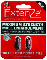 ** Extenze Extended Release 2 Pack Liquid Gelcaps has been DISCONTINUED BY  MANUFACTURER.  Check out Black Mamba as a replacement.
