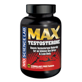 The ultimate blend to build a leaner, ripped body! MAX Testosterone has a supreme blend of 14 components to boost, stabilize, and free up testosterone naturally for an intense sex drive and lean body. 60 tablet bottle.