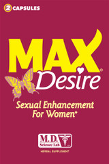 Max Desire Sexual Enhancement for Women - 2 Capsules Blister